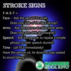 stroke signs hammer medical iowa